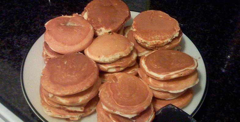 pancakes dulces