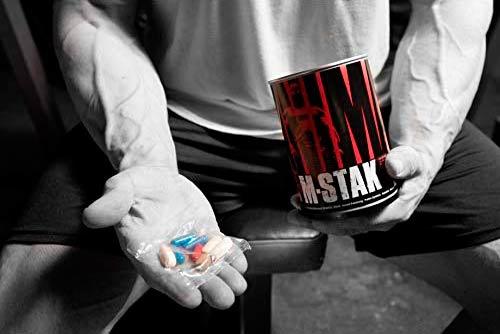 pastillas en la mano animal m-stak