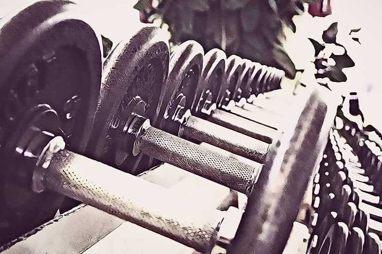 pesas para plan de entreno